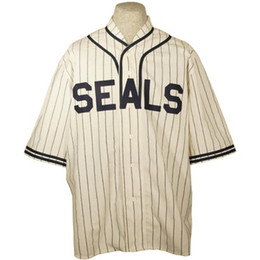 1eb84e0e8 San Francisco Seals 1934 Home Jersey Double Stiched Name   Number   Logos  Baseball Jersey For Men Women Youth