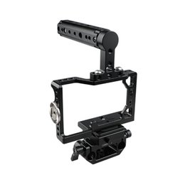 dslr camera cage rig NZ - CAMVATE Camera Cage With ARCA QR Baseplate For Sony A6500