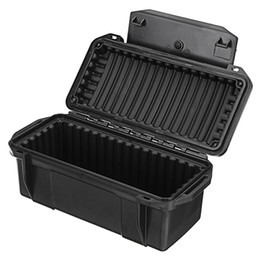 outdoor storage boxes waterproof UK - Outdoor Shockproof Waterproof Boxes Survival Airtight Case Holder Storage Matches Tools Travel Sealed Containers Storage Box X049