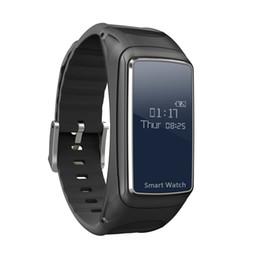 Discount new bluetooth wrist smart bracelet watch - B7 Smart Bracelet Bluetooth Sports Smart Watch Intelligent Detachable Music Heart Rate Monitor Pedometer Wrist Watch 201