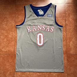 0d26e2b16  0 Frank Mason III Kansas Jayhawks KU College Basketball Jersey Men s  Embroidery Stitches Customize any Number and name jerseys