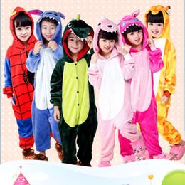 d8142a57d7 Pijama Infantil Onesie con capucha Kids Animal Cartoon Pijama Stitch Pikachu  Unicornio Panda Niños Niño Niña Unisex Pijama