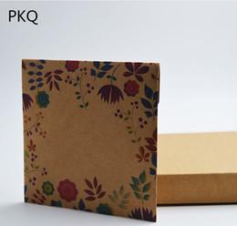 DvD cases storage online shopping - 30pcs Vintage Brown Kraft Paper CD Paper Envelopes DVD Case Bag CD Storage Bags Envelope
