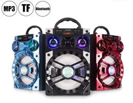 $enCountryForm.capitalKeyWord NZ - MS-188BT Bluetooth Speaker Big Sound Hifi Speaker Bass Wireless Subwoofer Outdoor Music Box With USB LED Light TF FM Radio DHL