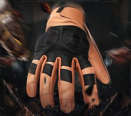 $enCountryForm.capitalKeyWord NZ - Full finger Special tactical leather sport gloves hard shell protection men's outdoor riding sport camping fighting mountaineering glove27