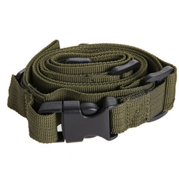 Rifle gun sling stRap online shopping - Tactical Point Nylon Adjustable Bungee Rifle Sling Swivels System Airsoft Gun Strap Paintball Gun Sling for Hunting Army Green