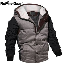 $enCountryForm.capitalKeyWord Canada - ReFire Gear Style Winter Jacket Men Warm Cotton Parka Coat Casual Autumn Thermal Fleece Knitting Hoodie Jacket EUR Size