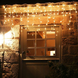$enCountryForm.capitalKeyWord Australia - christmas lights outdoor decoration 10 meter droop 0.3-0.5m led curtain icicle string lights new year wedding party garland light