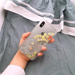 Iphone Cases Liquid NZ - Luxury Glitter Liquid Sand Quicksand Star Case for iphone 5 5S SE 6 6S 7 8 Plus X 10 Transparent Clear Hard Cover