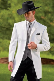 Groom western suit online shopping - Vintage Western Tuxedos Cowboy Slim Fit Black Groom Suit Wedding dinner Suit For Men Prom Suit Pieces Jacket Pants Vest