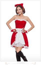 japanese sexy girls uniform 2019 - 2018 new sexy Japanese and Korean Christmas costumes Christmas gift Christmas party girl role-playing uniform temptation