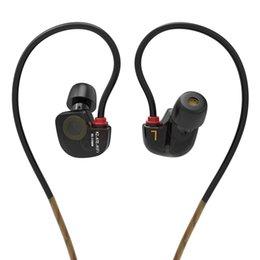 Venta al por mayor de KZ ATES ATE ATR HD9 Conductor de Cobre HiFi Sport Auriculares En Auriculares de Oído Para Correr Con Micrófono