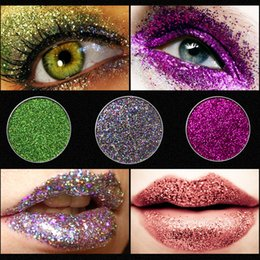 single eye shadows NZ - 2018 Makeup Waterproof single Glitter eyeshadow High Quality Pigment Beauty Make up Cosmetic individual Eyeshadow Eye shadow private label