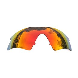 0cd2d89f2d74 Orange Red Mirrored Polarized Replacement Lenses for M Frame Sweep Sunglasses  Anti Saltwater Anti dust