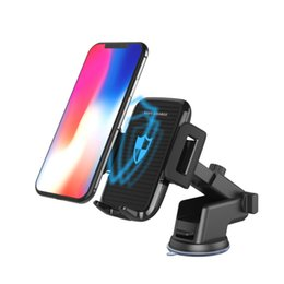 $enCountryForm.capitalKeyWord Australia - Car Mount Qi Wireless Charger 2 in 1 For iPhone X 8 Plus Quick Fast Charge Wireless Charging Pad Car Holder Stand for Samsung S9 S8 S7