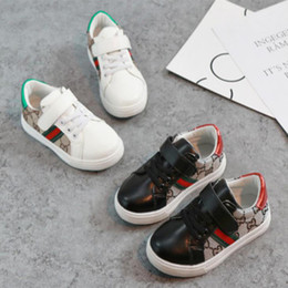 Wholesale Kids Designer Shoes Spring Summer Trend Fashion Children's Shoes Kids Casual Style Korean Stitching Pattern Shoes for Baby Boys