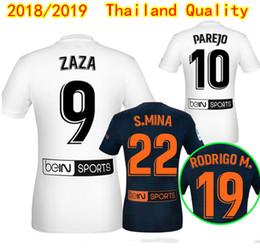 25466d80b Thai Quality PAREJO RODRIGO Home Away Soccer Jerseys 2018 2019 ZAZA  KONDOGBIA Football Shirts C.SOLER G.GUEDES S.MINA football uniform