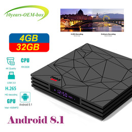 4gb Android Box NZ - M9S Y2 Android 8.1 tv box Quad Core 4GB 32GB 64GB RK3328 2.4G Wifi HDR10 HLG Better S905W S905X H96 max T95Z Plus S8 MAX T9