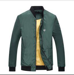 China .Free shipping size M- 2XL Fall thin Men sportswear jacket high quality waterproof fabric Men sports jacket Fashion zipper jacket supplier jacket fabrics suppliers