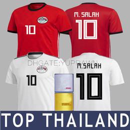 2018 M.SALAH Soccer Jersey WOMEN Kids Long Sleeve KAHRABA Egypt World Cup  National Camiseta de Futbol Footbal SHIRT Kits Maillot de Foot a9fb9e905