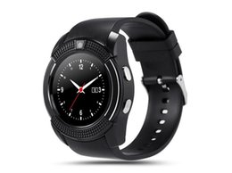 Quad Band Smart Watch Australia - Smart Watch Quad-band Calling Clock MTK6261 Bluetooth Phone Call Notification with Camera Smartwatch for Android IOS Smartphone