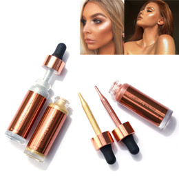 $enCountryForm.capitalKeyWord NZ - NAQIER Beauty Liquid Highlighter Makeup Brand Women Magic Face Brighten Glow Glitter Make Up Bronzers Highlighter Face Cosmetics Kit 15ml