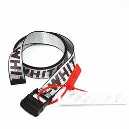 17ss C / O ceinture style industriel en cuir brodé homme et femme en cuir ceinture HFBYYD008