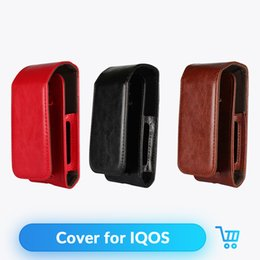 $enCountryForm.capitalKeyWord NZ - IQOS Cover PU Leather Case Flip Bag For iQOS Electronic Cigarette Accessories Carrying Protective vape Case