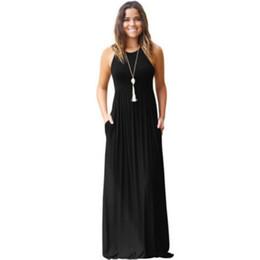 333c6e476483 Vestiti di lunghezza del pavimento di un pezzo online-Abito da donna  lunghezza pavimento 2019