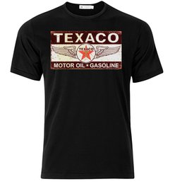 Chinese  Texaco Motor Oil IV - Graphic Cotton T Shirt Short & Long Sleeve manufacturers