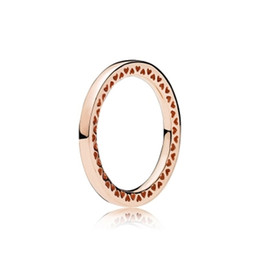 Pan Side UK - WinTion PAN 2018 New Sterling Silver S925 Silver Jewelry Simple elegant temperament Quality jewelry (Rose gold models)