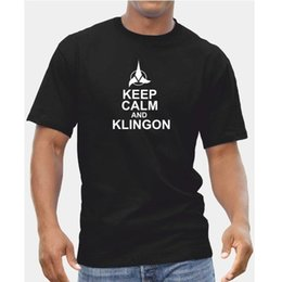 $enCountryForm.capitalKeyWord Canada - Keep Calm And Klingon - Mens Boys Star Trek Spock Syfy