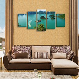 $enCountryForm.capitalKeyWord Canada - 5 pieces high-definition print landscape canvas oil painting poster and wall art living room picture PL5-128