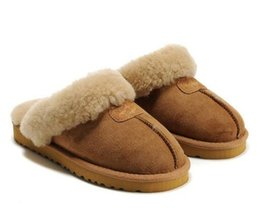 Home plusH slippers online shopping - 2018 Australia explosions WGG Snow boots home non slip slippers Cotton boots men and women indoor and outdoor warm Slippers