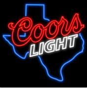 $enCountryForm.capitalKeyWord NZ - COORS LIGHT Neon Sign Real Glass Tube Bar Pub Store Business Advertising Home Decoration Gift Display Metal Frame Size 24''X20''