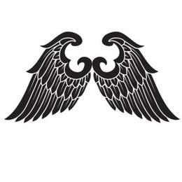 $enCountryForm.capitalKeyWord UK - Angel Wings Religious Car Stickers Vinyl Car Packaging Fashion Personality Creative Classic Body