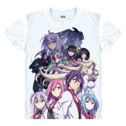 T Shirts Style Australia - The Asterisk War T-Shirts Multi-style Short Sleeve Shirts Gakusen Toshi Asterisk Gaiden Ayato Amagiri Asutarisuku Cosplay Shirt