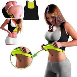 Shaper Shirts NZ - Women Sleeveless Fat Burning Vest Body Shaper Fitness Corset Sport Gym Tank Top Women Yoga Shirts Bodybuilding Running T Shirt
