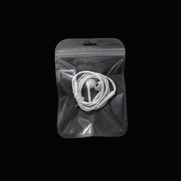 Cosmetic Bags Locks Australia - 10.5*15cm Transparent Zip Lock Plastic Gift Storage Bag Reusable Clear Ziplock Package Poly Bag For Cosmetic Electronic Accessories Storage