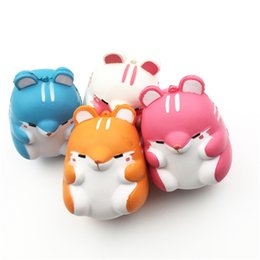 $enCountryForm.capitalKeyWord NZ - Hot Kawaii Soft Squishy Colorful Simulation Hamster Toy Slow Rising for Relieves Stress Anxiety Home Decoration Hair Bun Maker 50
