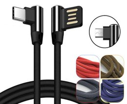 $enCountryForm.capitalKeyWord Australia - Free DHL 100pcs elbow weaving series Micro USB Fast Charging Data Cable Charger for Android V8 Samsung Xiaomi IOS Apple iPhone X 8 7 6 6S