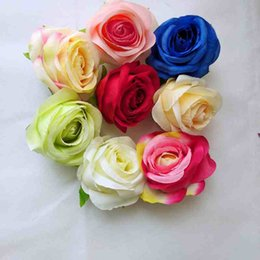 $enCountryForm.capitalKeyWord Canada - Artificial Head Silk Rose Handmade Flower 30Pcs bag 6cm and 6 colors Mini PE Foam Roses Artificial Flower for party