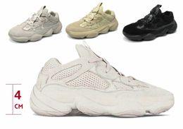Acessórios Sapatos Casuais 2018 NEW 500 Sapatilhas Treinamento Designer de Moda Mulheres e Homens sapatos Querida Ventilação Aumentar sapatos venda por atacado