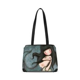 $enCountryForm.capitalKeyWord Australia - Kawaii Bunny Women Bucket Shoulder Bag Girls Cartoon Prints Large Bookbag Ladies Leather Tote Handbag Female Brand Messenger Bag