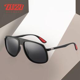 Unique Sunglasses Brands Australia - 20 20 Brand Design Classic Sunglasses Men Driving Sun Glasses Polarized Unique Temple Square Goggles UV400 Eyewear
