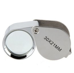 Chinese  Fast Shipping 360 PCS 30x 21mm Jewelers Eye Magnifying Glass Magnifier Loupe FEDEX DHL UPS Shipping manufacturers