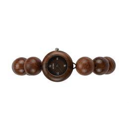 Vogue clocks online shopping - Ladies Wood Watches Lady Casual Vogue Design Small Bracelet Women Wooden Quartz Watches Top Brand Luxury Girl Hand Clock Birthday Gift