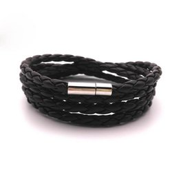 Nautical Bracelets Wholesale NZ - High Quality Anchor Bracelets Men Charm Nautical Survival Rope Chain Bracelet Stainless Steel Bracelet Wrap Metal Sport Hooks