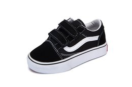 $enCountryForm.capitalKeyWord UK - 2018 Brand Revenge x Storm Black Children Casual Shoes Kendall Jenner Ian Connor babay Kids Old Skool boys girls Casual Shoes