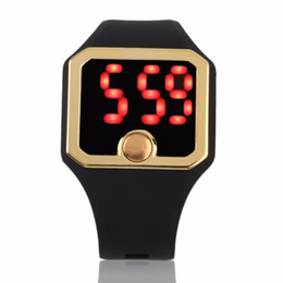 $enCountryForm.capitalKeyWord UK - LED Smart Wrist Band Heart Rate Sport Bracelet Watch Heartbeat Rate Wrist Watch 2018 New